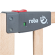 Roba Safety Up biztonsági rács, 70 – 118,5 cm, natur