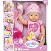 Baby born soft touch girl baba, 43 cm