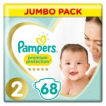 Pampers Jumbo Pack 68 db-os