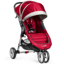 Baby Jogger City Mini 3 babakocsi, crimson gray