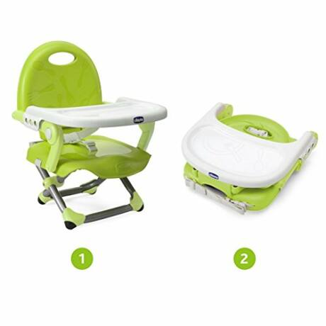 Chicco Pocket Snack hordozható székmagasító, lime zöld