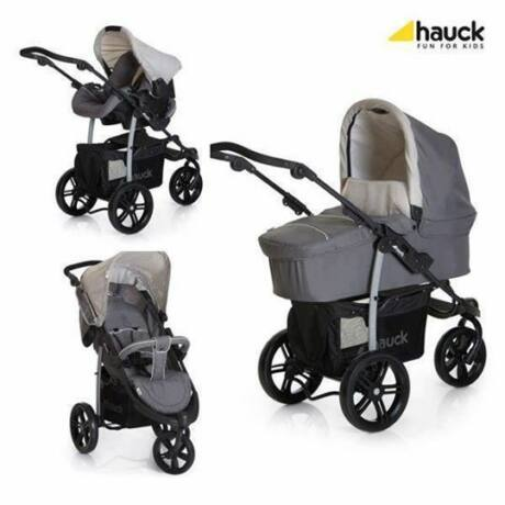 Hauck Viper SLX Trio Set 3 in 1 babakocsi, Smoke Grey