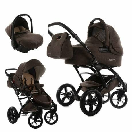 Knorr-Baby Voletto 3 in 1, Trio babakocsi, barna