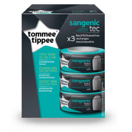 Tommee Tippee Sangenic tec 3 db-os utántöltő