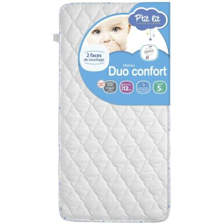 P'tit Lit bb Duo Confort matrac 70 x 140 x 12 cm